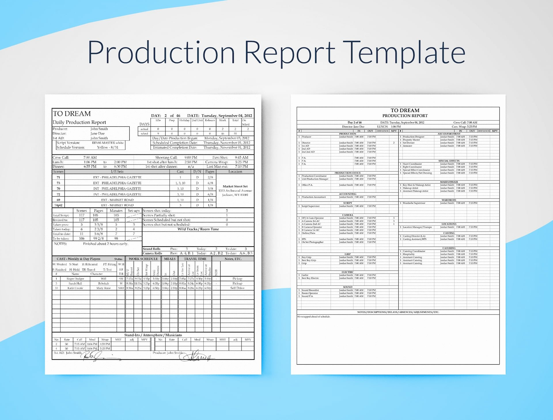 Daily Production Report Template Excel Beautiful Daily Production Report Excel Template Free Download