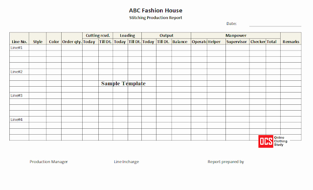 Daily Production Report Template Excel Fresh Daily Production Report Excel Template Free Download