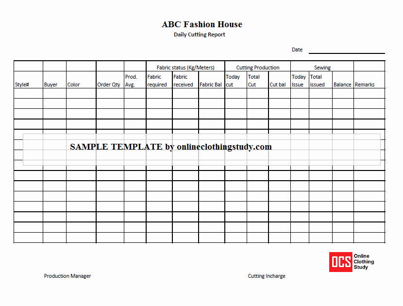 Daily Production Report Template Excel Inspirational Daily Production Report Excel Template Free Download