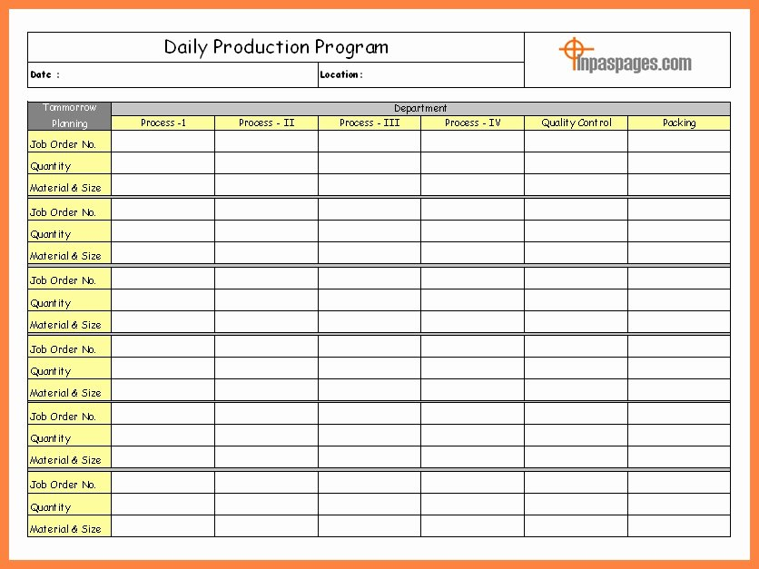 Daily Report Template Excel Lovely Daily Report Excel Template Invitation Template
