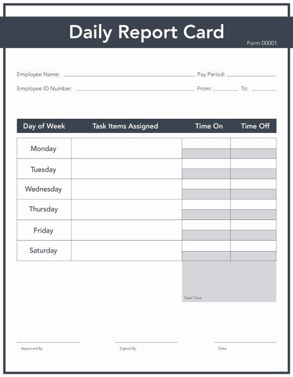 Daily Sales Report Template Awesome 9 Free Daily Report Templates Construction Sales