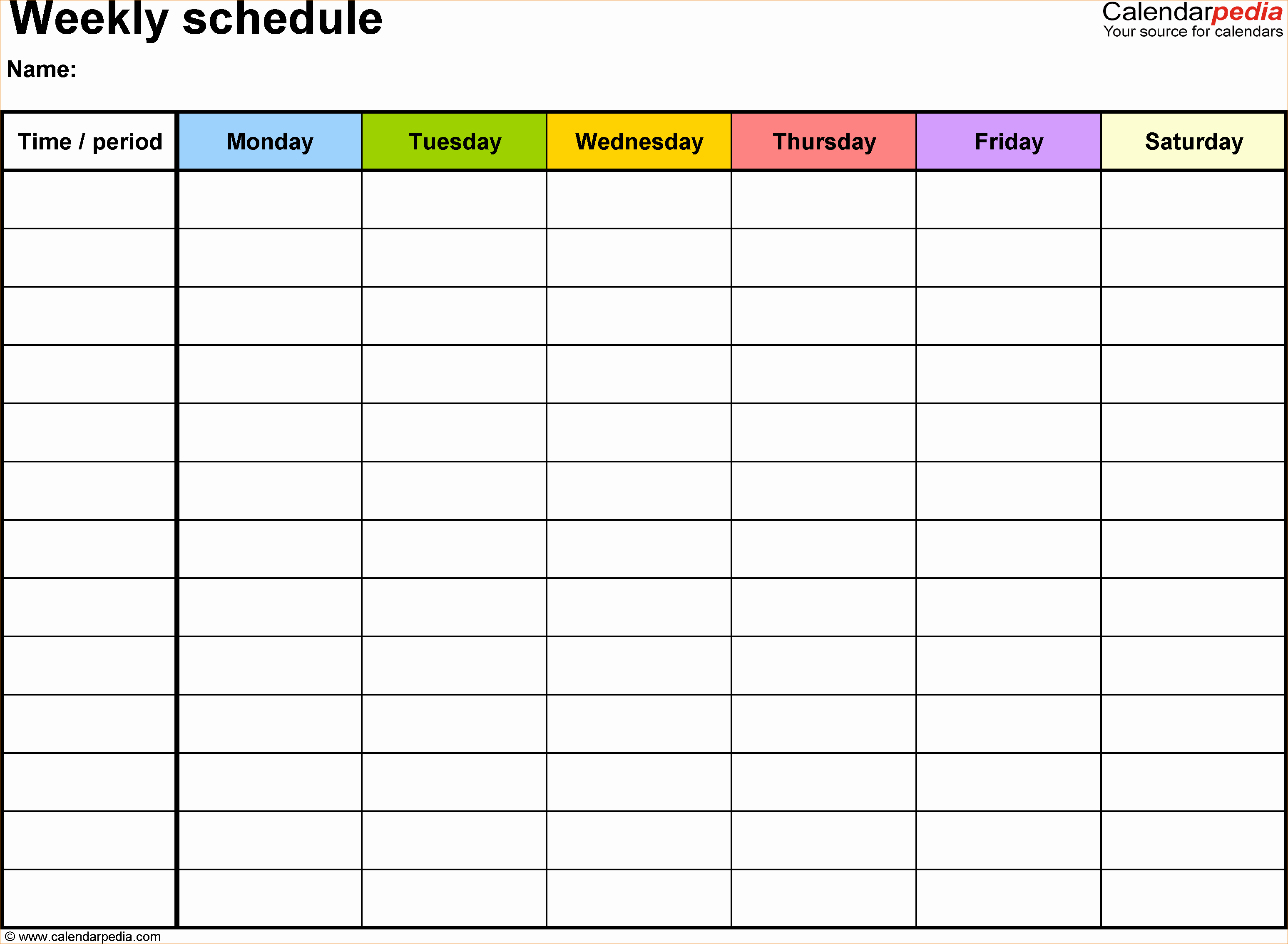 Daily Schedule Template Pdf Elegant 6 Daily Schedule Template Pdf