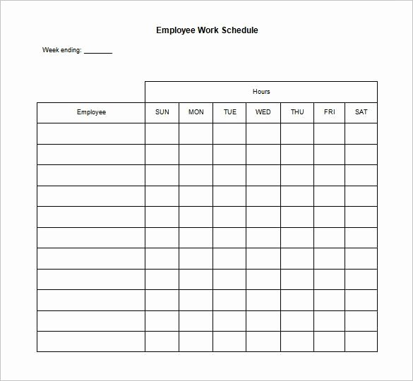 Daily Schedule Template Pdf Unique 10 Daily Schedule Templates Printable Excel Word Pdf