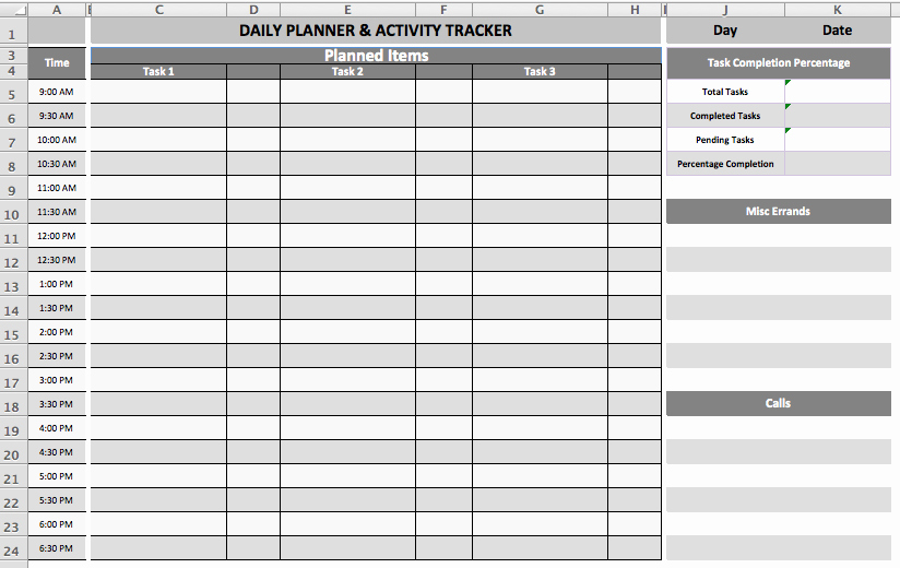 Daily Task List Template Luxury Daily Task Planner Template Microsoft Fice Templates