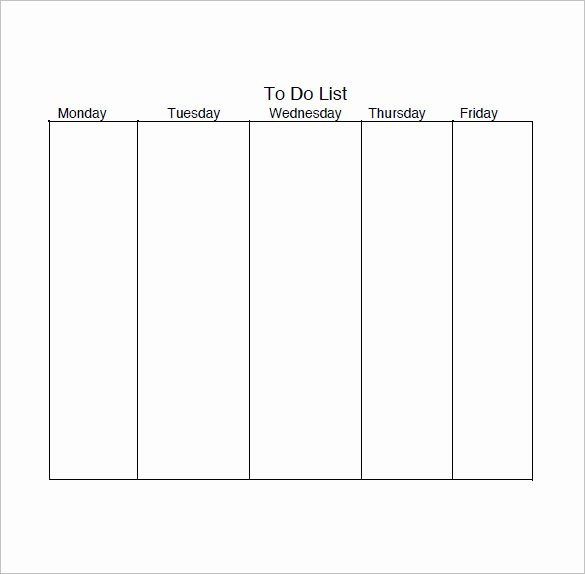 Daily Task List Template Word Fresh Daily Task List Template – 9 Free Word Excel Pdf format