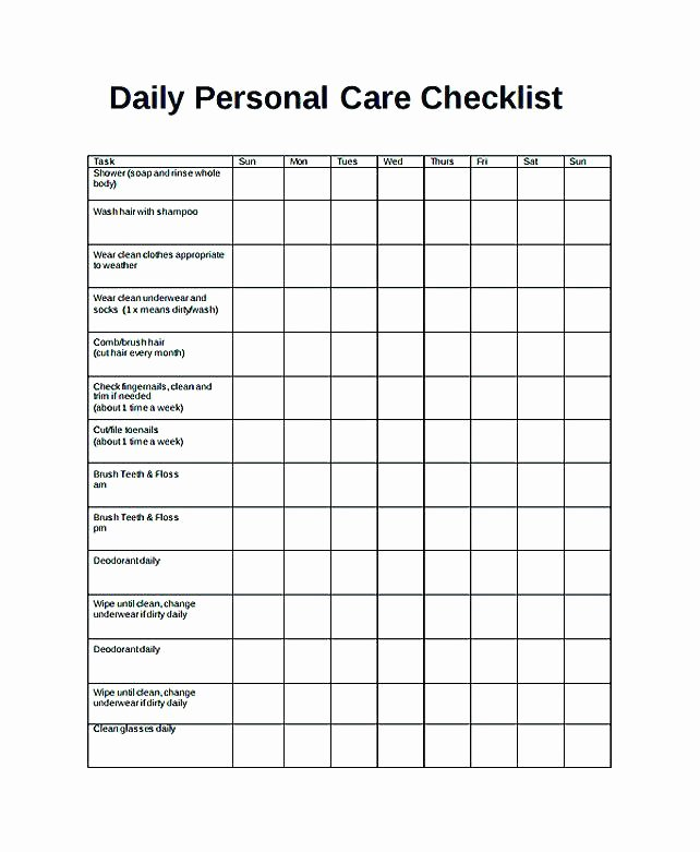 Daily Task List Template Word Inspirational Daily Task List Template Excel Planner Checklist Word