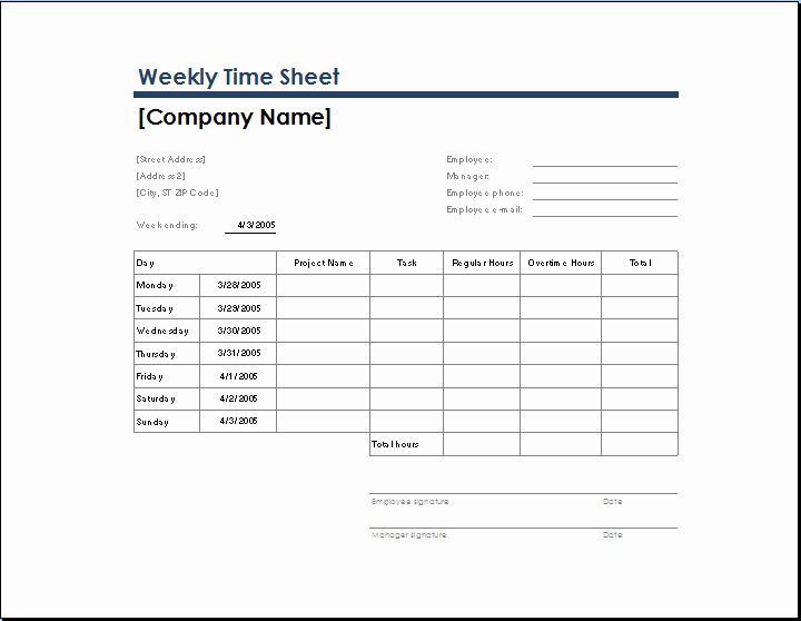 Daily Timesheet Excel Template Luxury Ms Excel Ficial Time Sheet Templates