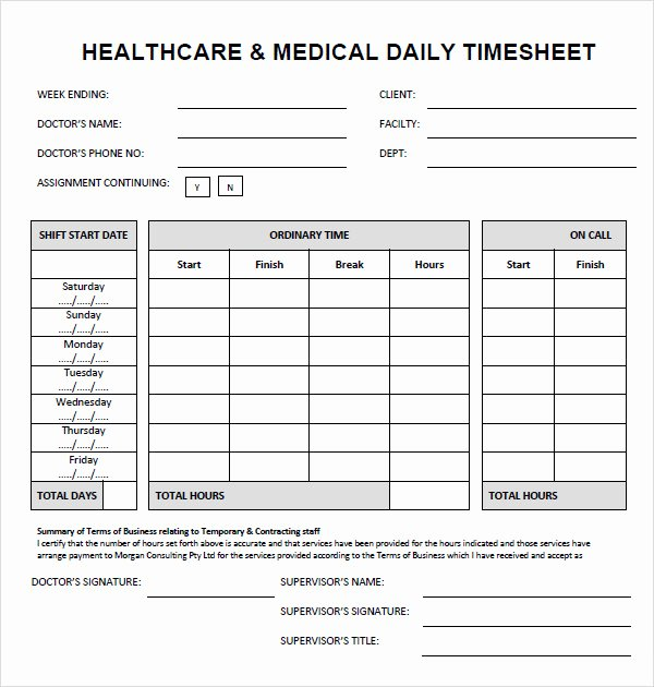 Daily Timesheet Excel Template Luxury Sample Time Sheet 7 Documents In Pdf Doc Excel