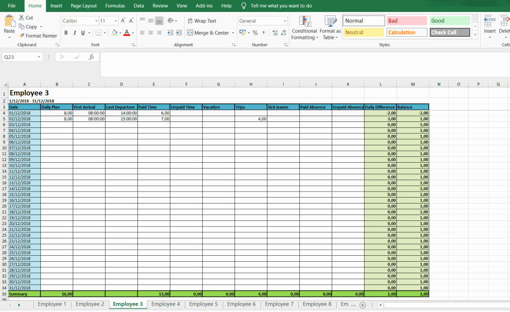 Daily Timesheet Excel Template Unique Monthly and Weekly Timesheets Free Excel Timesheet
