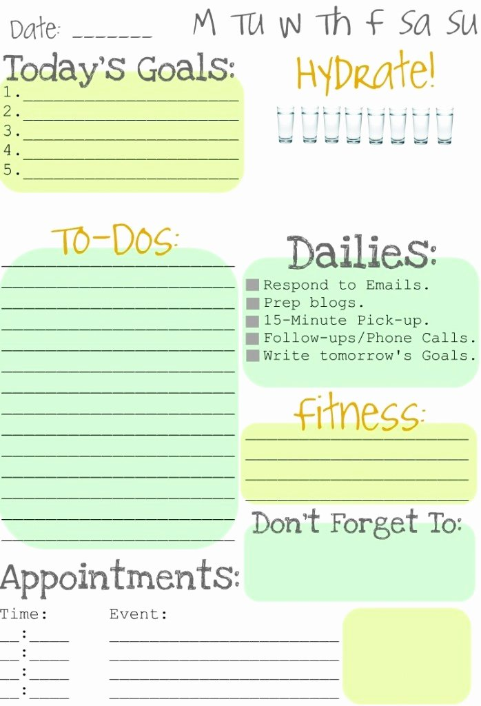 Daily to Do List Template Inspirational Making to Do Lists Fun Clean and Scentsible