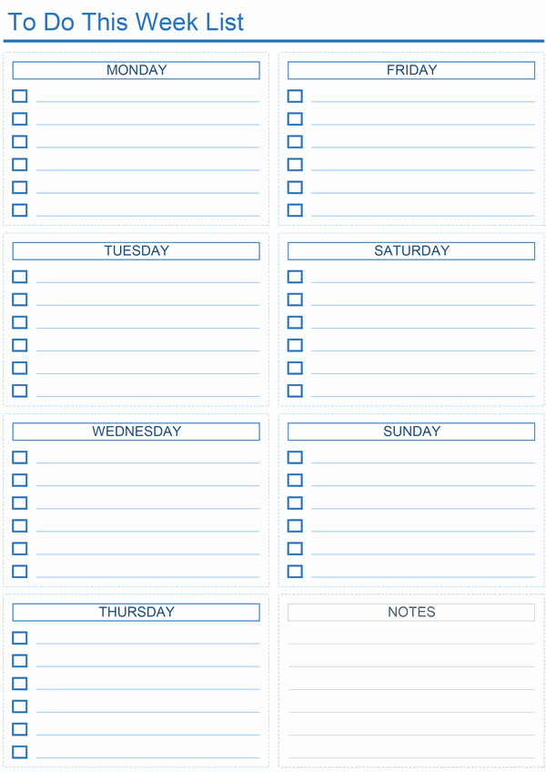 Daily to Do List Template Unique Daily to Do List Templates for Excel