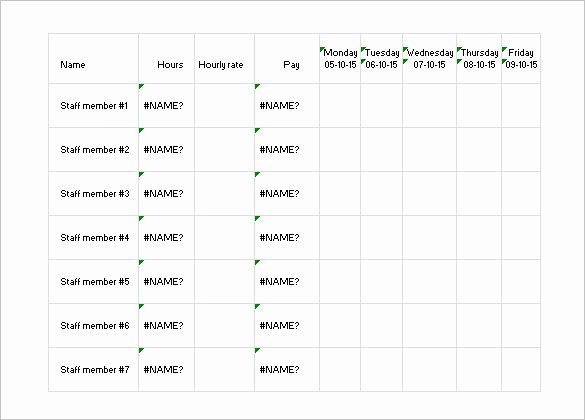 Daily Work Schedule Template New 17 Daily Work Schedule Templates & Samples Doc Pdf