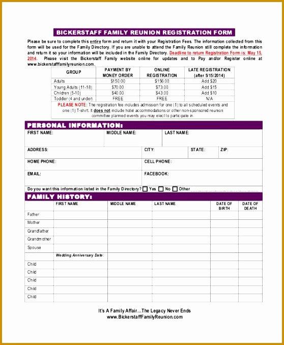 Dance Registration form Template Lovely 6 Dance School Registration form Template Free
