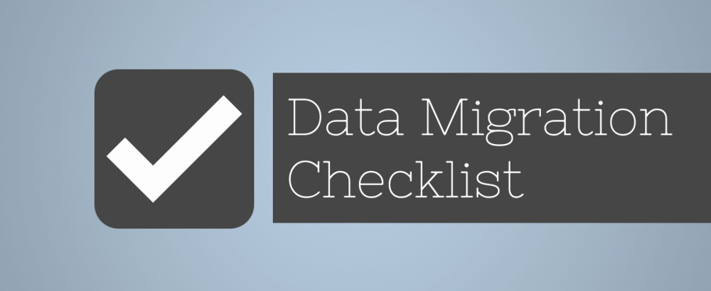 Data Migration Plan Template Best Of Data Migration Checklist Planner Template for Effective