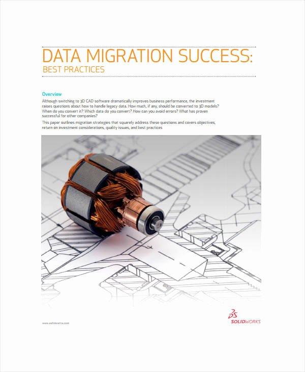 Data Migration Plan Template Inspirational 4 Migration Project Plan Templates Pdf