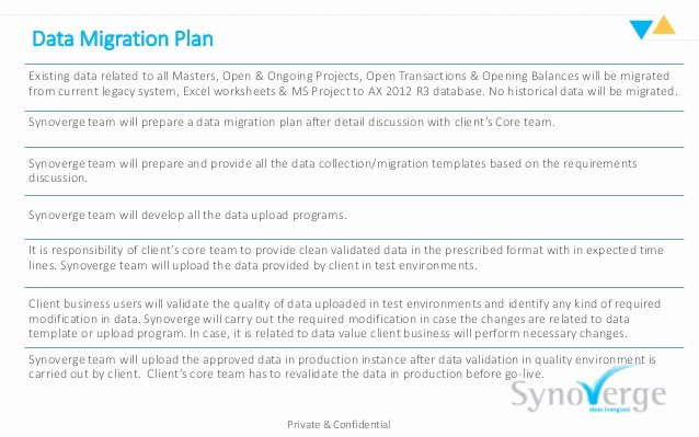 Data Migration Project Plan Template Awesome Ax 2012 R3 Legacy Data Migration