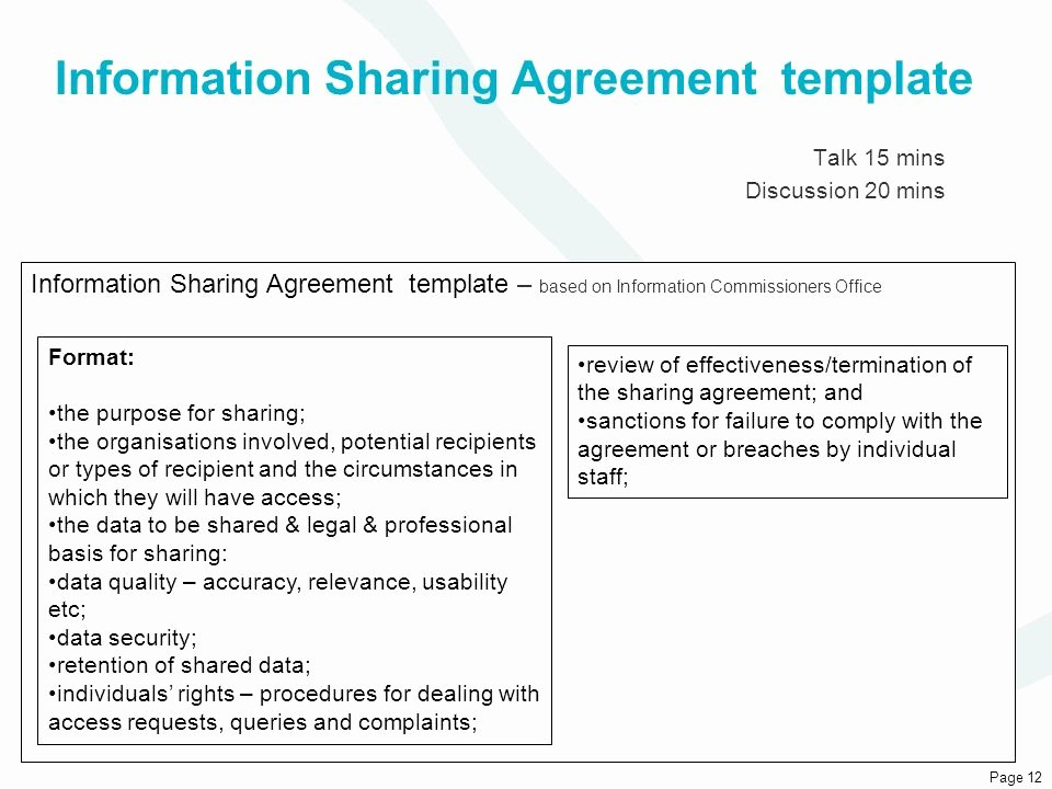 Data Security Agreement Template Lovely London Public Health Transition Delivery Board Ppt Video