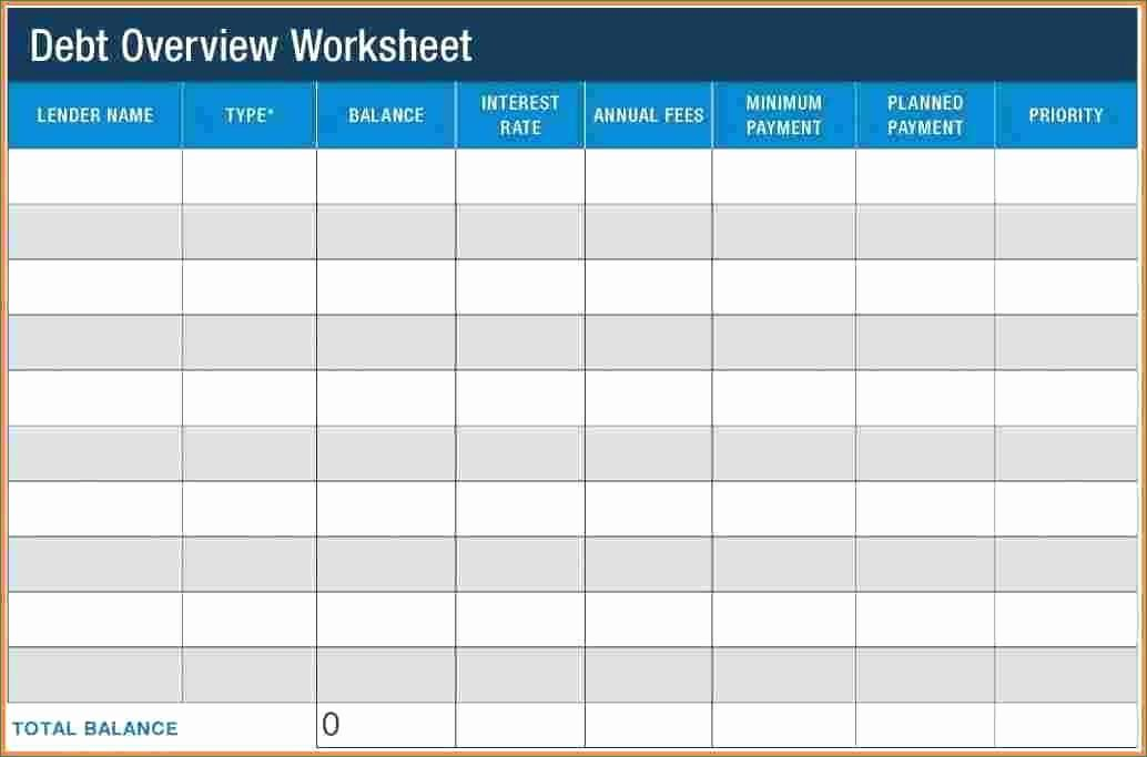 Debt Payment Plan Template Best Of Debt Payment Plan Template Best Debt Payoff Worksheet