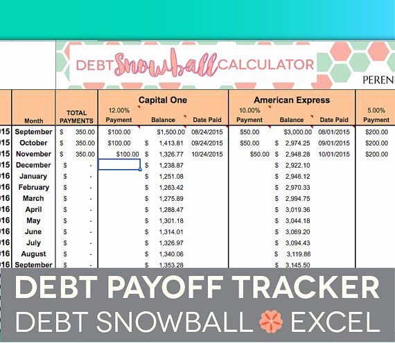 Debt Payment Plan Template Elegant Debt Payoff Spreadsheet Debt Snowball Excel Credit