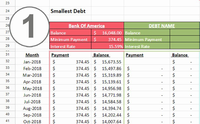Debt Payment Plan Template Inspirational Debt Snowball Spreadsheet E Beautiful Home