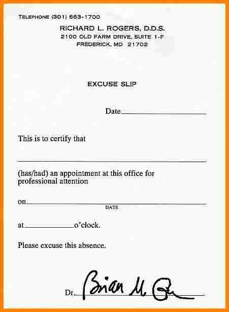 Dental Excuse Letter Template Inspirational Dental Excuse Letter Template 42 Fake Doctor S Note