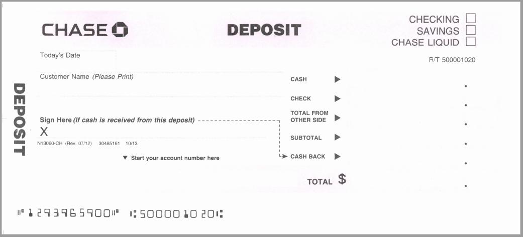Deposit Slip Template Word Best Of 5 Free Deposit Slip Templates Small Business Resource