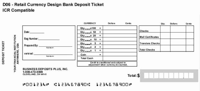 Deposit Slip Template Word Lovely 10 Deposit Slip Templates Excel Templates