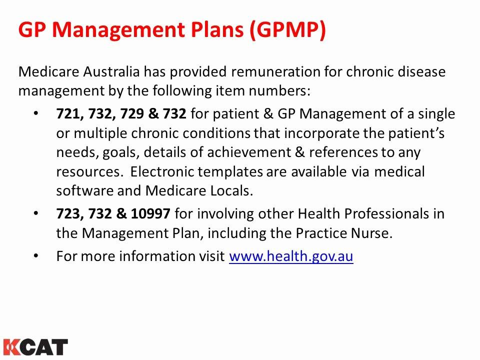 Diabetes Management Plan Template Fresh Detecting & Managing Ckd Kidney Health Australia Ppt