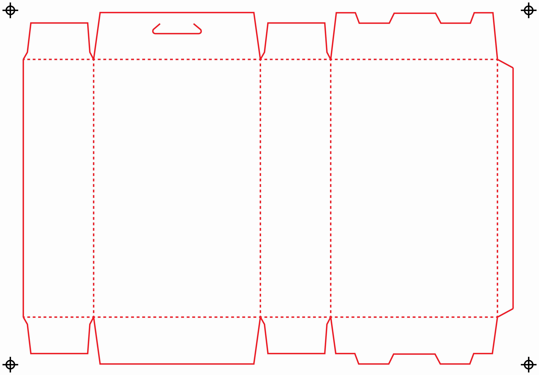 Die Cut Box Template Awesome Die Lines