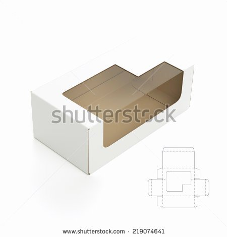 Die Cut Box Template New Die Cut Stock S &