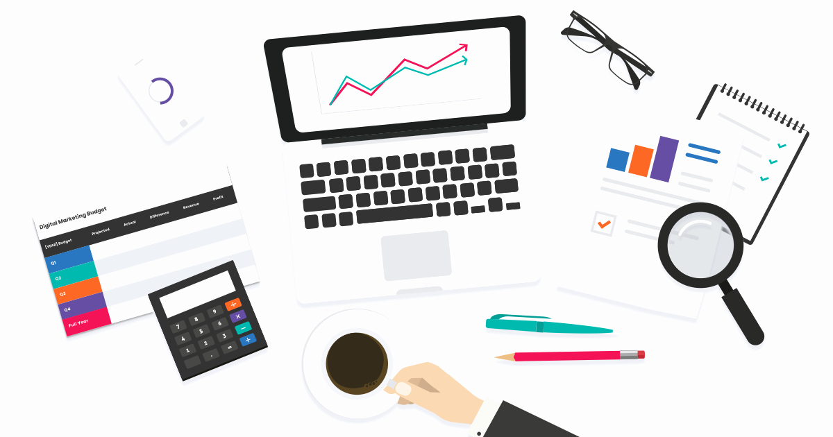 Digital Marketing Budget Template Awesome Download Your Free Digital Marketing Bud Template