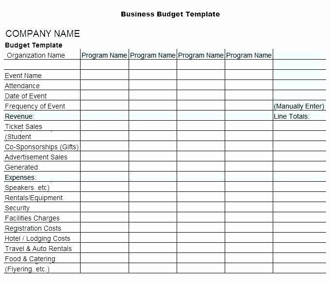 Digital Marketing Budget Template Luxury Marketing Bud Template Xls – Arabnormafo