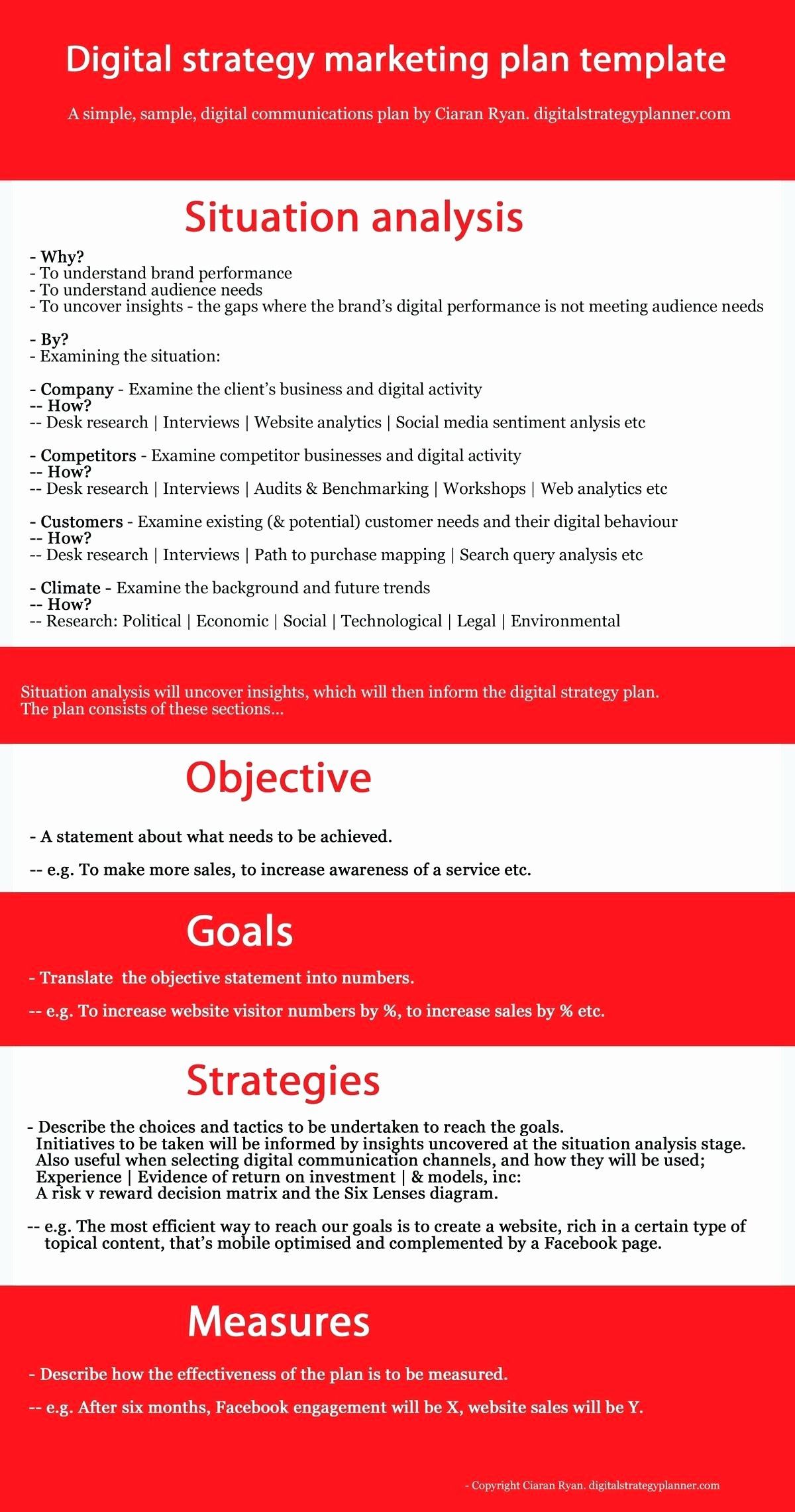 Digital Marketing Campaign Template Best Of Template Marketing Campaign Proposal Template