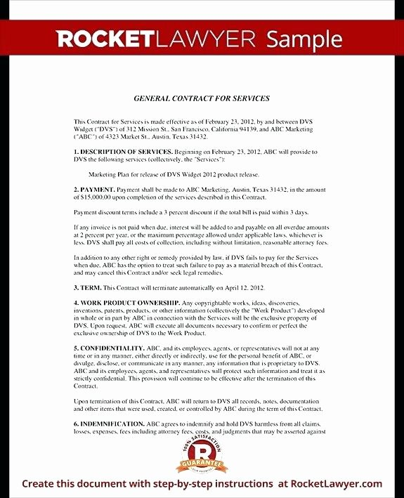 Digital Marketing Contract Template Inspirational Digital Marketing Contract Template Doc Proposal