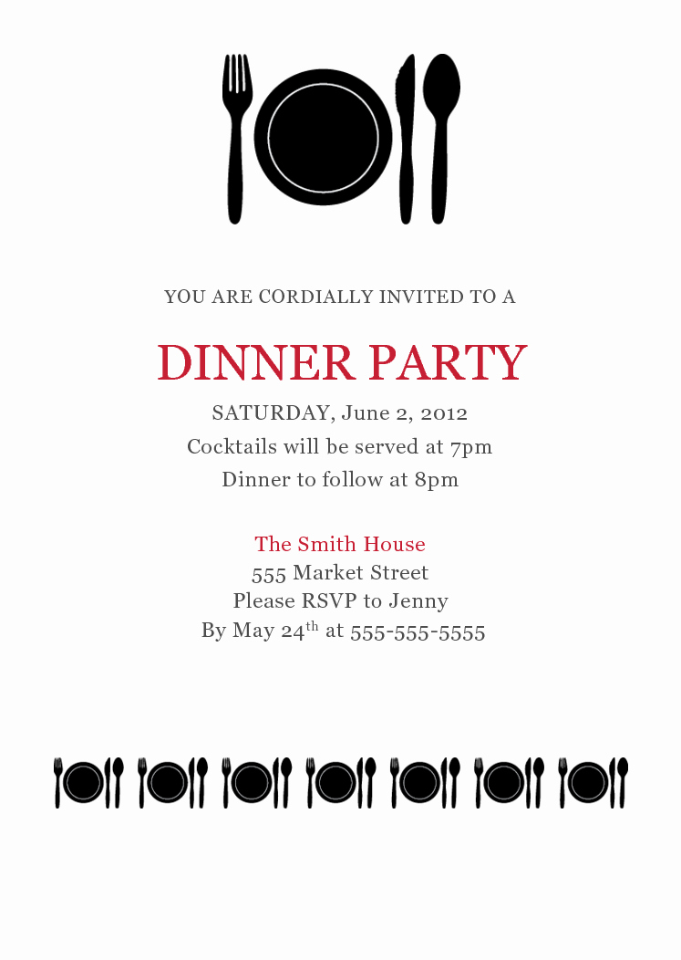 Dinner Invitation Email Template Beautiful 10 Best Of Dinner Invitation Template formal