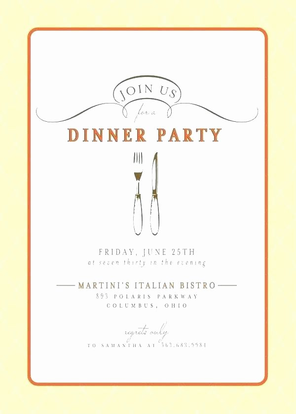Dinner Invitation Email Template Beautiful Corporate Dinner Invitation Template Professional Business