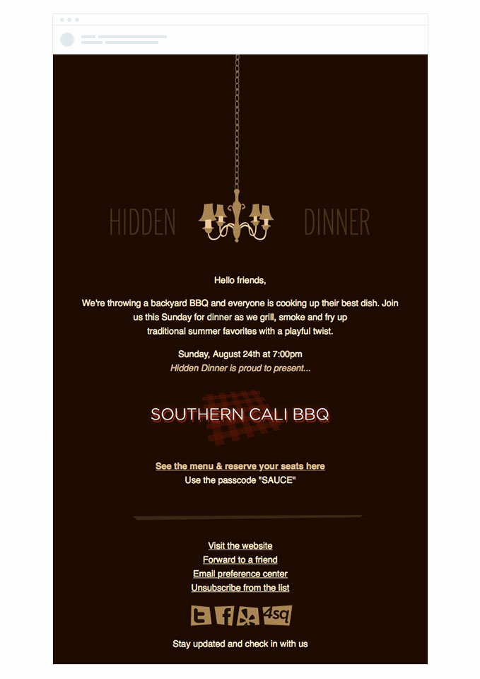 Dinner Invitation Email Template Best Of 4 event Invitation Emails that Draw Crowds