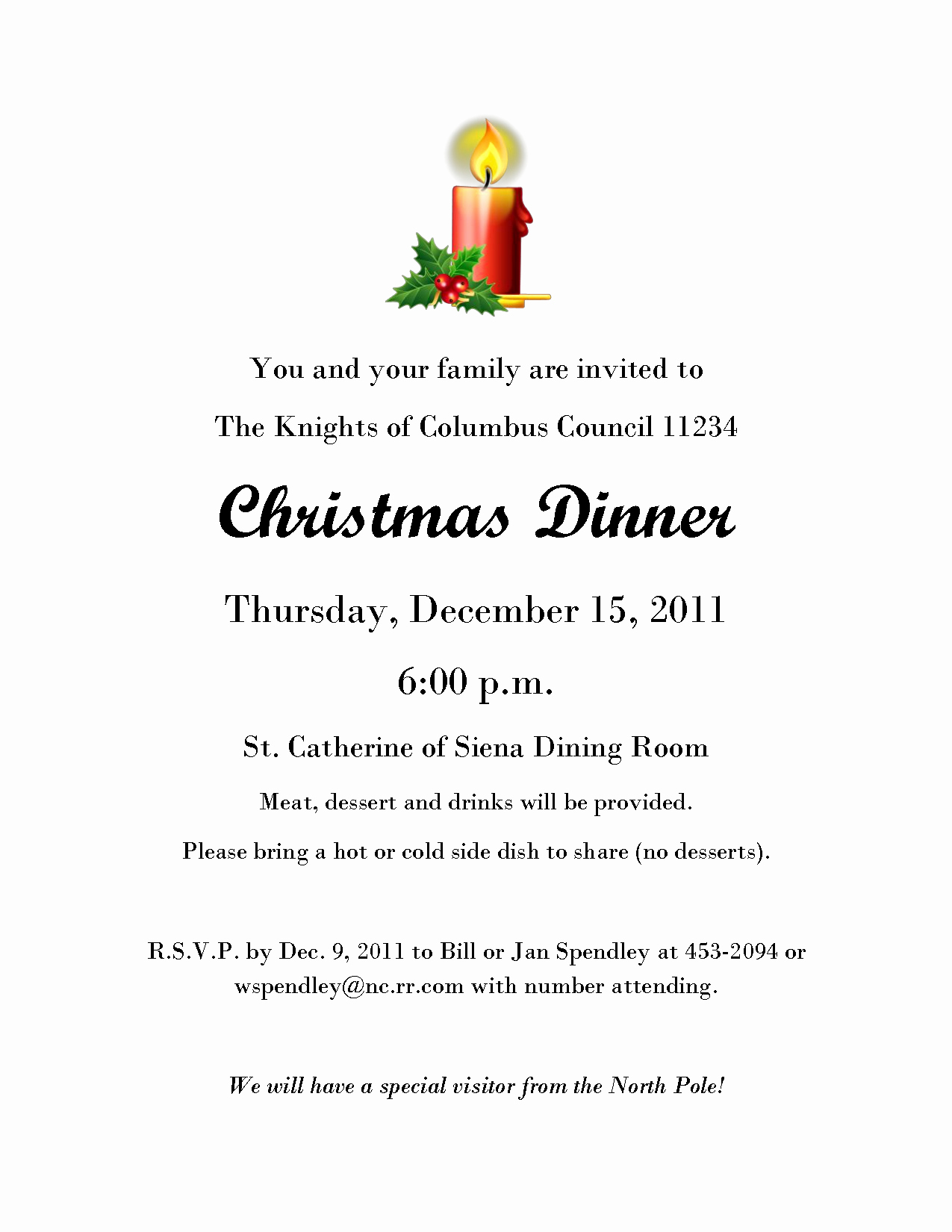 Dinner Invitation Email Template Inspirational Christmas Dinner Invitation Email Template – Fun for