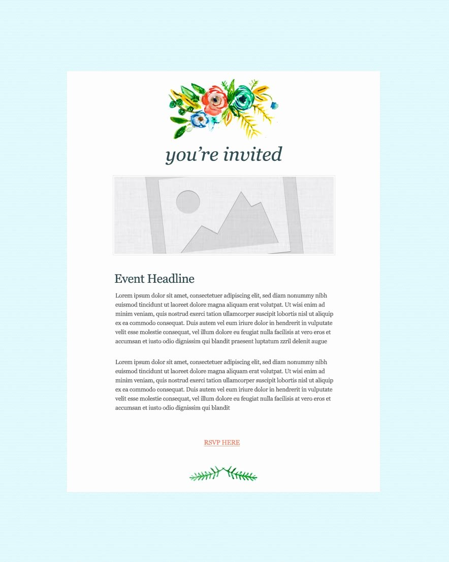 Dinner Invitation Email Template Luxury Invitation Email Marketing Templates Invitation Email