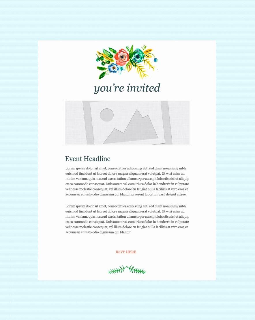 Dinner Invitation Email Template Luxury Invitation Email Marketing Templates Invitation Email