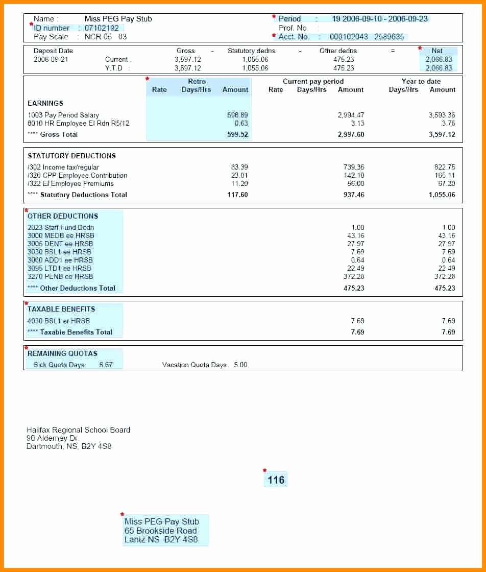 Direct Deposit Pay Stub Template Unique Direct Deposit Pay Stub Template