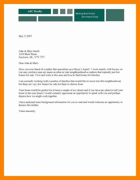 Direct Mail Letter Template New 5 Direct Mail Sample Letter