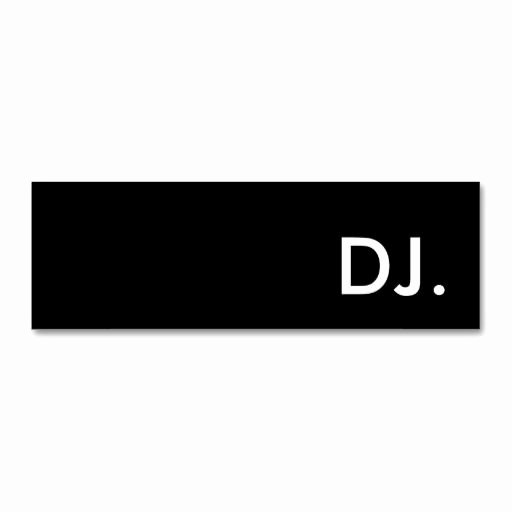 Dj Business Card Template Fresh 287 Best Images About Dj Business Cards On Pinterest