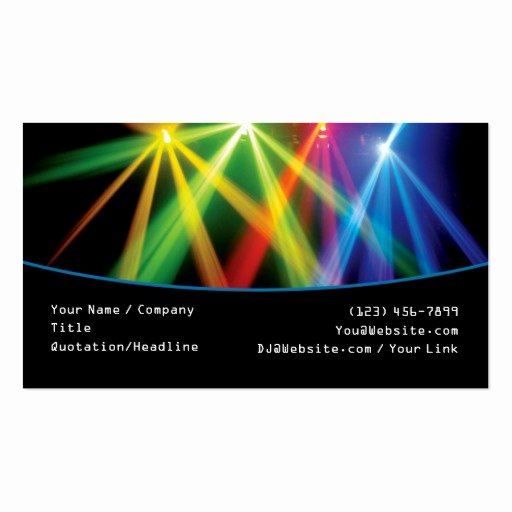 Dj Business Card Template Inspirational Premium Dj Business Card Templates