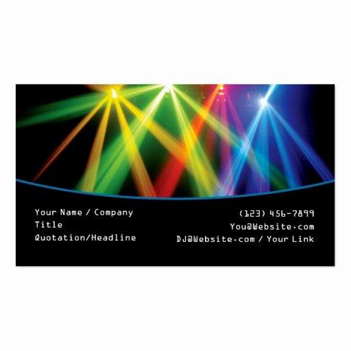 Dj Business Card Template Inspirational Premium Dj Business Card Templates