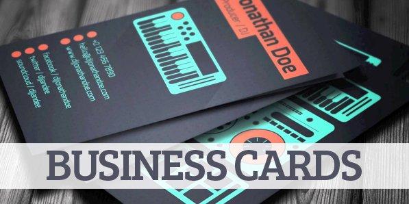 Dj Business Card Template Lovely Amazing Dj Business Cards Psd Templates Design