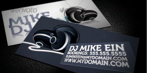 Dj Business Cards Template Best Of 50 Dj Music Business Cards & Designs