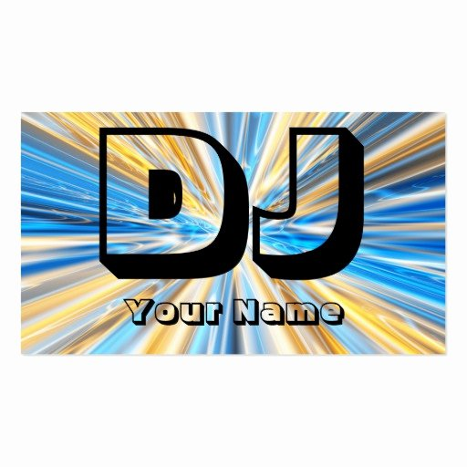 Dj Business Cards Template Best Of Dj Business Card Templates