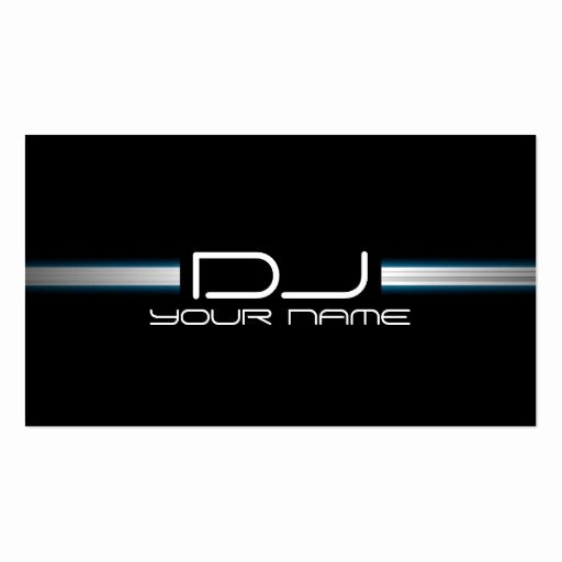 Dj Business Cards Template Fresh Premium Dj Business Card Templates Page8