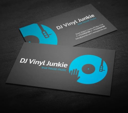 Dj Business Cards Template Luxury Best 25 Dj Business Cards Ideas On Pinterest